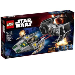 Lego Star Wars. Tie Advanced di Vader contro A-Wing Starfighter - 4