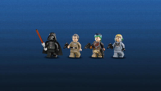 Lego Star Wars. Tie Advanced di Vader contro A-Wing Starfighter - 8