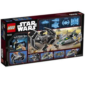 Lego Star Wars. Tie Advanced di Vader contro A-Wing Starfighter - 9