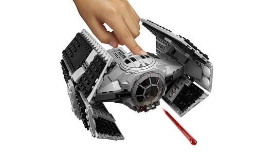 Lego Star Wars. Tie Advanced di Vader contro A-Wing Starfighter - 13