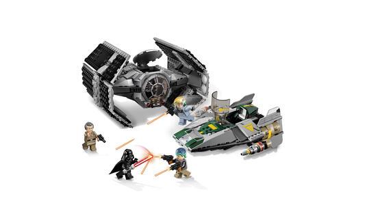 Lego Star Wars. Tie Advanced di Vader contro A-Wing Starfighter - 14