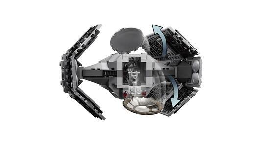 Lego Star Wars. Tie Advanced di Vader contro A-Wing Starfighter - 15