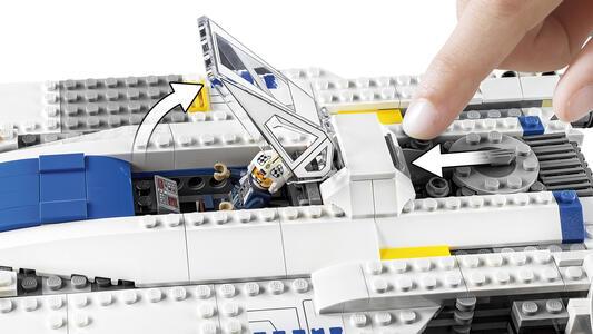 LEGO Star Wars (75155). Rebel U-Wing Fighter - 6