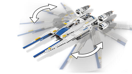 LEGO Star Wars (75155). Rebel U-Wing Fighter - 11