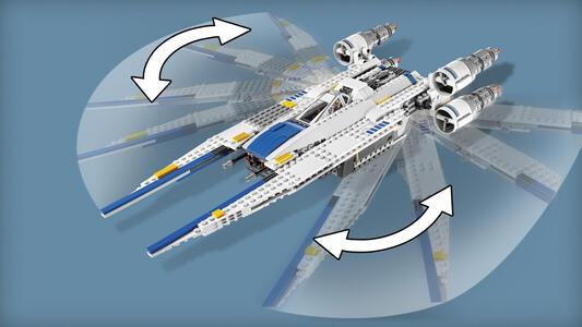 LEGO Star Wars (75155). Rebel U-Wing Fighter - 12