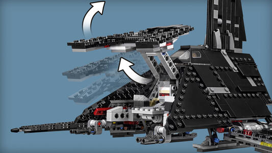 LEGO Star Wars (75156). Shuttle imperiale di Krennic - 10
