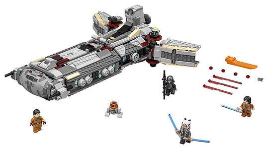 LEGO Star Wars.  Fregata Da Combattimento Dei Ribelli - 3