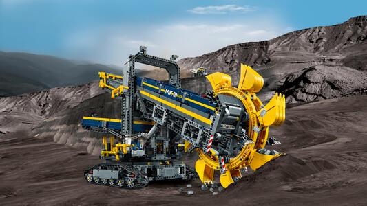 LEGO Technic (42055). Escavatore da miniera - 8