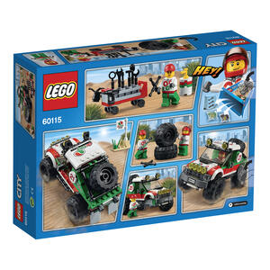 LEGO City Great Vehicles (60115). Fuoristrada 4x4 - 3