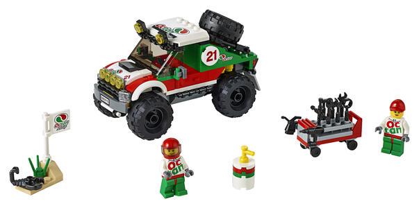 LEGO City Great Vehicles (60115). Fuoristrada 4x4 - 4
