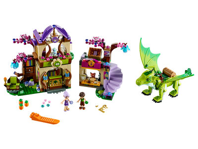 Giocattolo Lego Elves. La Piazza del mercato segreta (41176) Lego 2