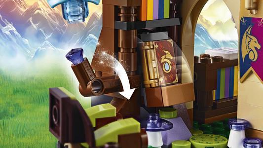 Giocattolo Lego Elves. La Piazza del mercato segreta (41176) Lego 5