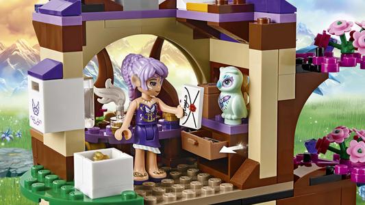 Giocattolo Lego Elves. La Piazza del mercato segreta (41176) Lego 9