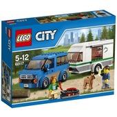Lego City Great Vehicles. Furgone e caravan (60117)