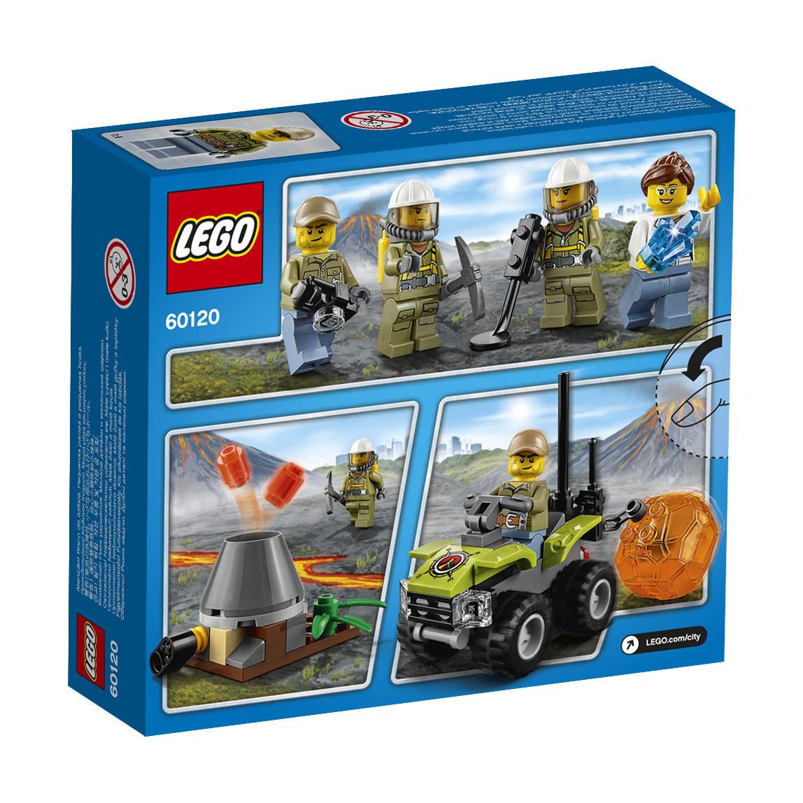 Lego City Starter Set Vulcano 60120 Lego City Giocattoli #803715 4070 2678 H Tavolo Da Pranzo