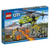 Giocattolo LEGO City (60123). Elicottero dei Rifornimenti Vulcanico Lego
