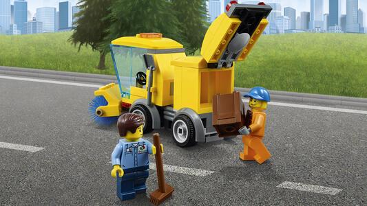 LEGO City Town (60132). Stazione di servizio - 12