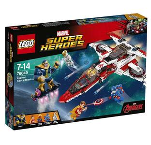 LEGO Super Heroes (76049). Missione spaziale dell'Aven-jet