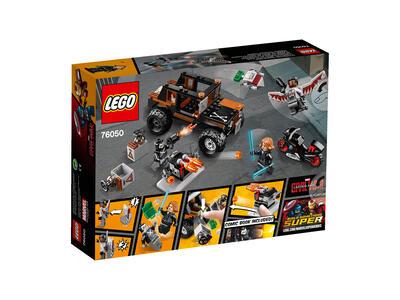 LEGO Super Heroes (76050). Captain America Movie 2 - 3