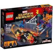 Lego Super Heroes. Spiderman. Ghost Raider si allea (76058)