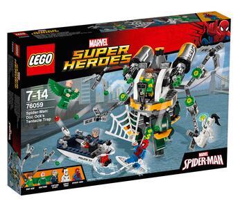 Lego Super Heroes. Spiderman. La trappola tentacolare di Doc Ock - 4