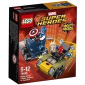 Lego Super Heroes. Mighty Micros Capitan America v Teschio Rosso