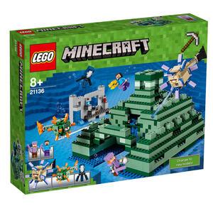 LEGO Minecraft (21136). Monumento oceanico - 3