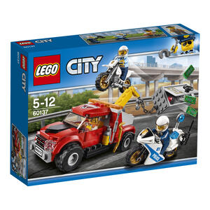LEGO City Police (60137). Autogrù in panne - 6