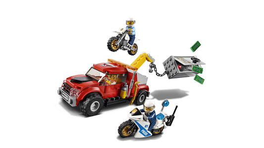 LEGO City Police (60137). Autogrù in panne - 16