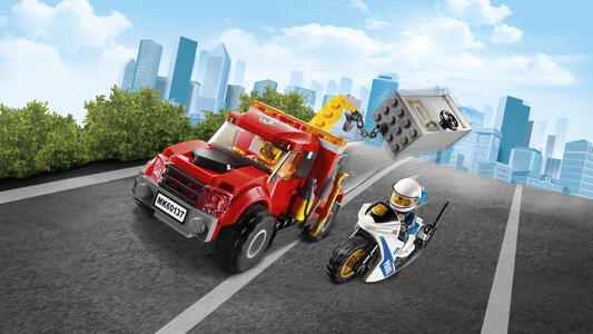LEGO City Police (60137). Autogrù in panne - 37