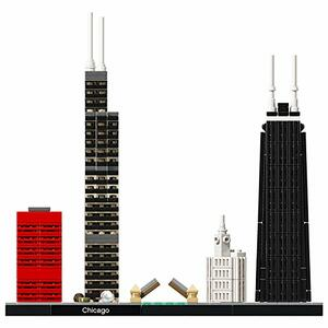 LEGO Architecture (21033). Chicago - 8
