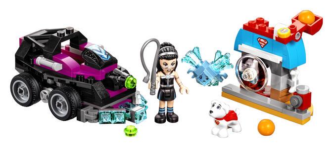 LEGO Dc Super Hero Girls (41233). Il carro armato di Lashina - 4