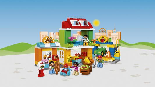 LEGO Duplo Town (10836). Grande Piazza in città - 10
