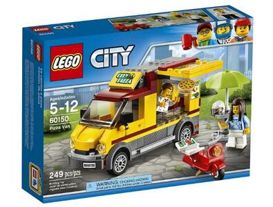 LEGO City Great Vehicles (60150). Furgone delle pizze
