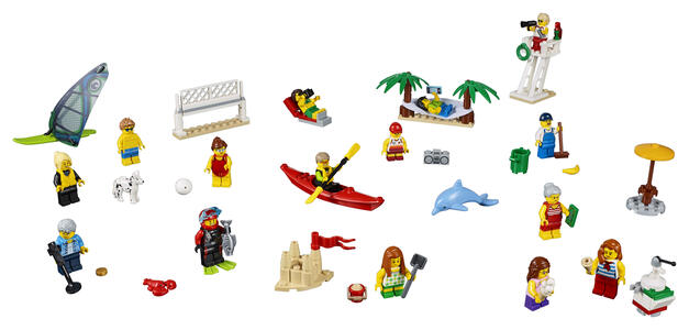 LEGO City Town (60153). People pack ? Divertimento in spiaggia - 7
