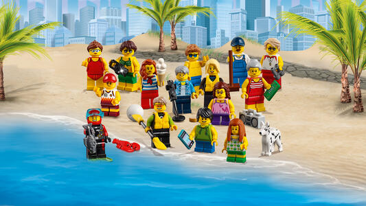 LEGO City Town (60153). People pack ? Divertimento in spiaggia - 8