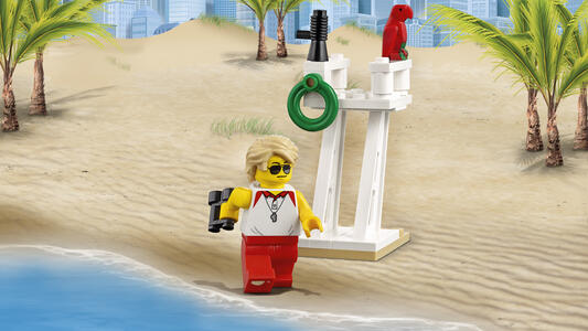 LEGO City Town (60153). People pack ? Divertimento in spiaggia - 12