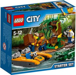 LEGO City In/Out 2017 (60157). Starter set della Giungla - 2