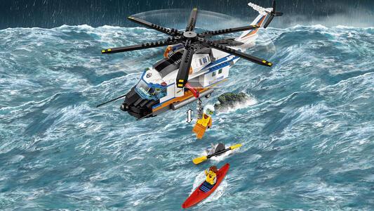 LEGO City Coast Guard (60166). Elicottero della Guardia Costiera - 14