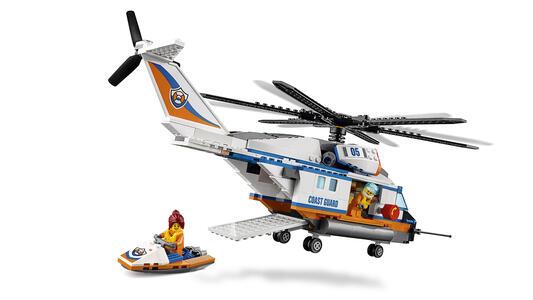 LEGO City Coast Guard (60166). Elicottero della Guardia Costiera - 17