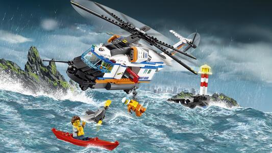 LEGO City Coast Guard (60166). Elicottero della Guardia Costiera - 6