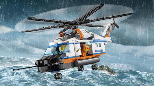 LEGO City Coast Guard (60166). Elicottero della Guardia Costiera - 8