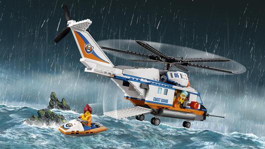 LEGO City Coast Guard (60166). Elicottero della Guardia Costiera - 10