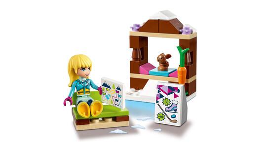 LEGO Friends (41322). La pista di pattinaggio del villaggio invernale - 15