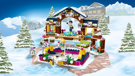LEGO Friends (41322). La pista di pattinaggio del villaggio invernale - 6
