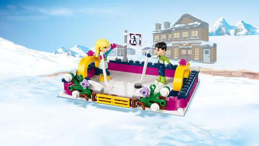 LEGO Friends (41322). La pista di pattinaggio del villaggio invernale - 8
