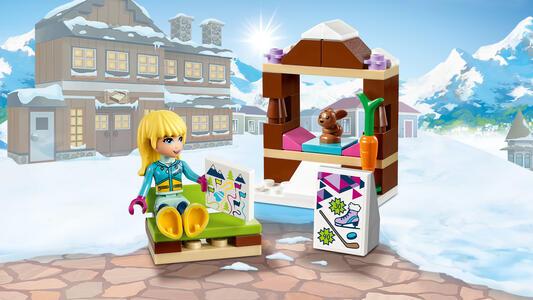 LEGO Friends (41322). La pista di pattinaggio del villaggio invernale - 9