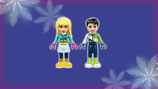 LEGO Friends (41322). La pista di pattinaggio del villaggio invernale - 11