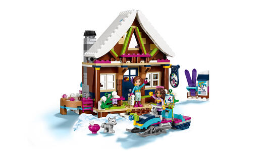 LEGO Friends (41323). Lo chalet del villaggio invernale - 17