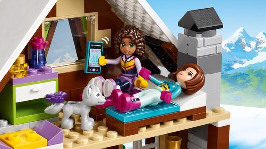 LEGO Friends (41323). Lo chalet del villaggio invernale - 18